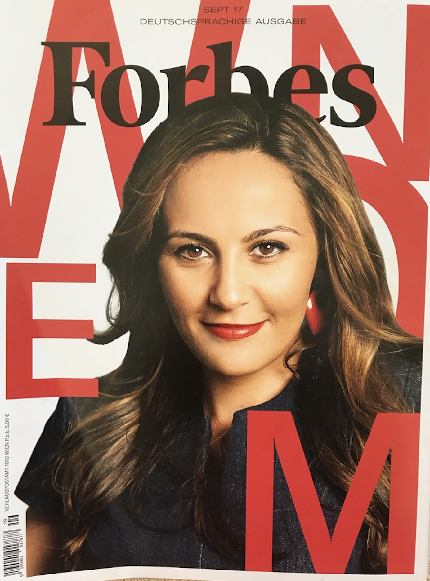Forbes Magazine cover tandem nomads