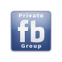 Button Facebook Private Group
