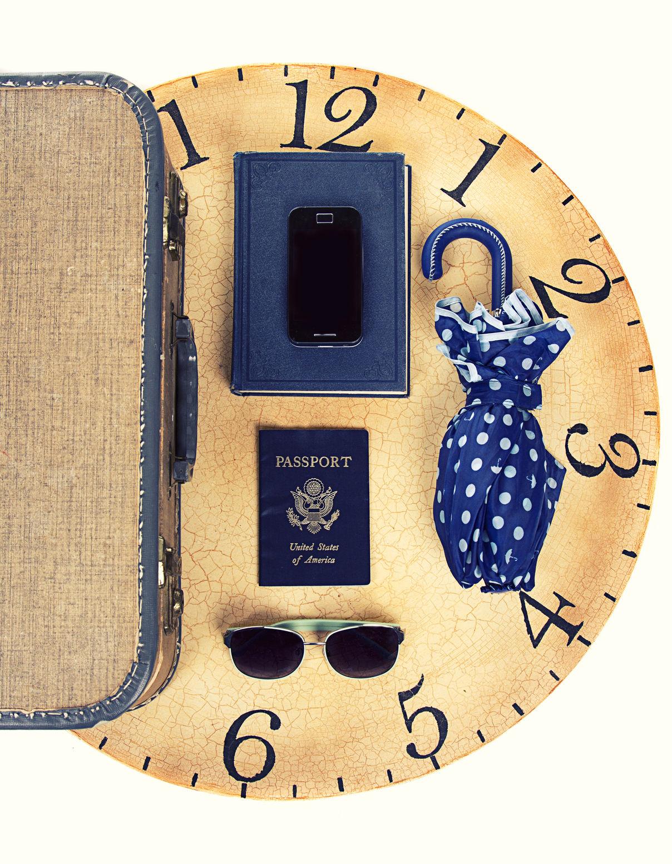 traveling clock