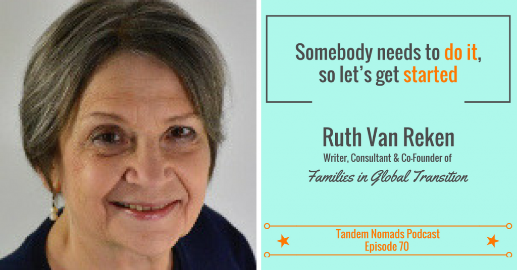 Ruth Van Reken How to leave a legacy