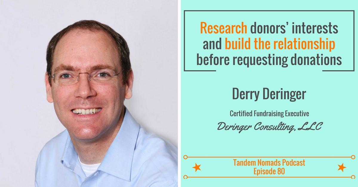 Derry Deringer Tandem Nomads 80 Interview Raise funds for NGO