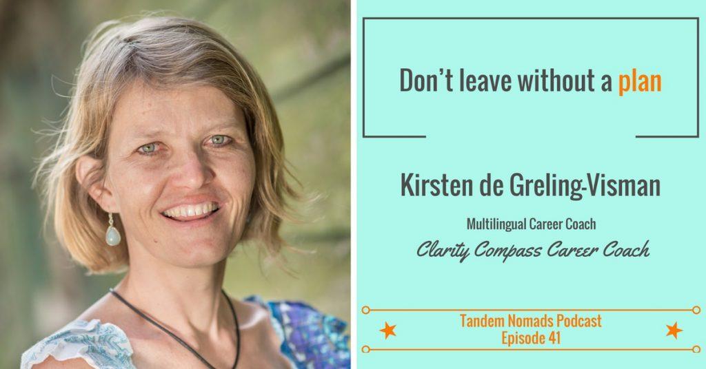 build a career plan tandem nomads podcast kirsten visman