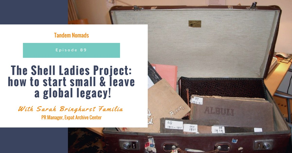 shell ladies project Tandem Nomads 89