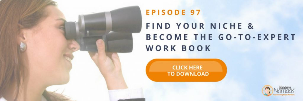 TN97 Free download Find your niche workbook