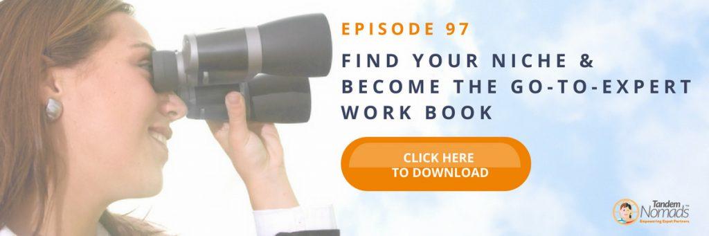TN97 Free download Find your niche workbook