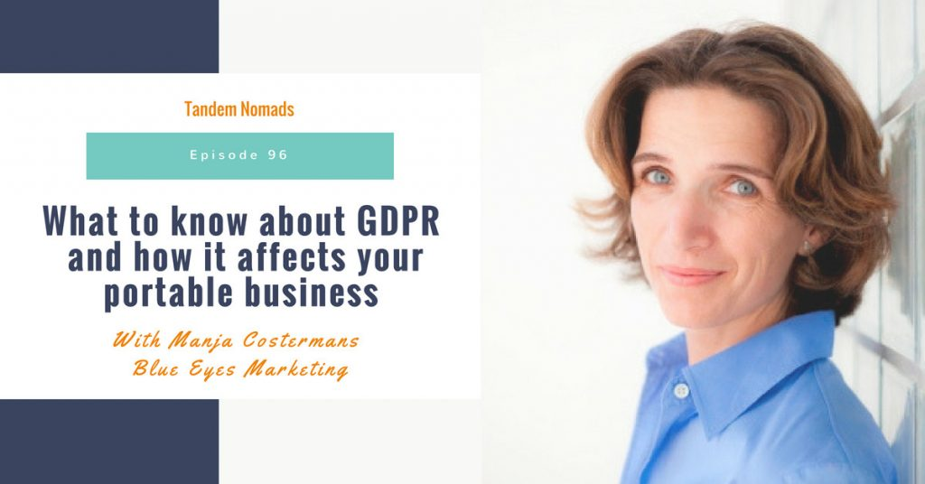 tn96 gdpr and portable business tandem nomads