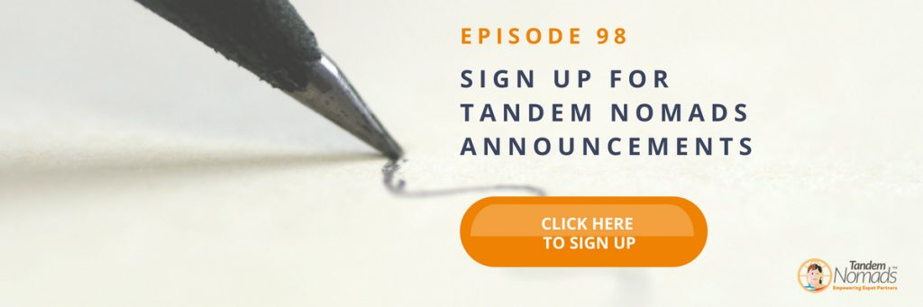 tandem nomads time to think ep 98