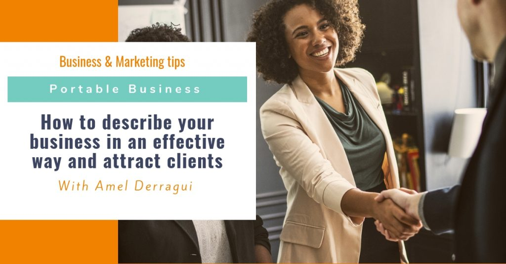 How to describe your business in an effective way and attract clients