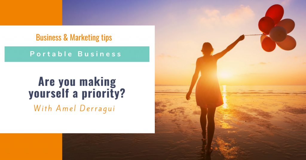 Are you making yourself a priority