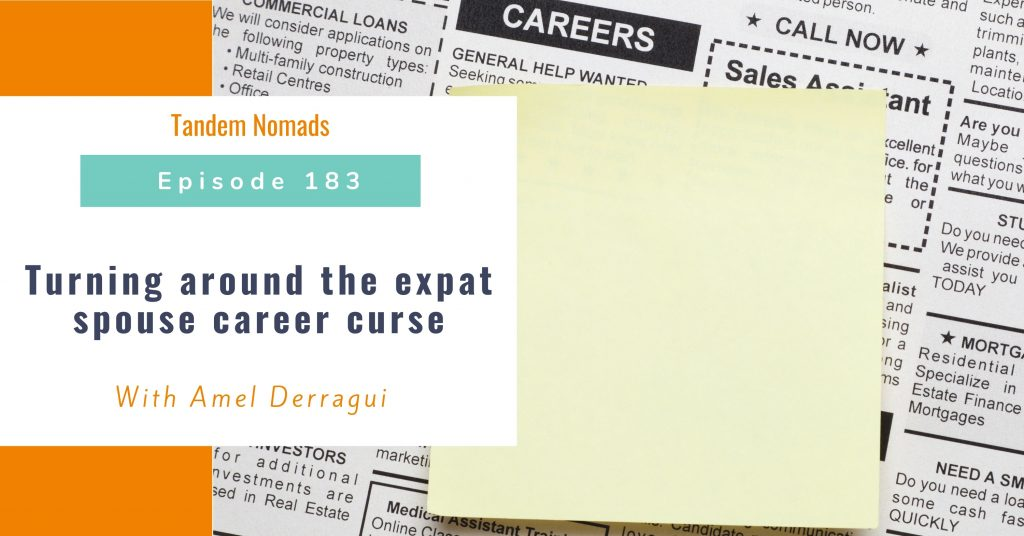 Turning around the expat spouse career curse