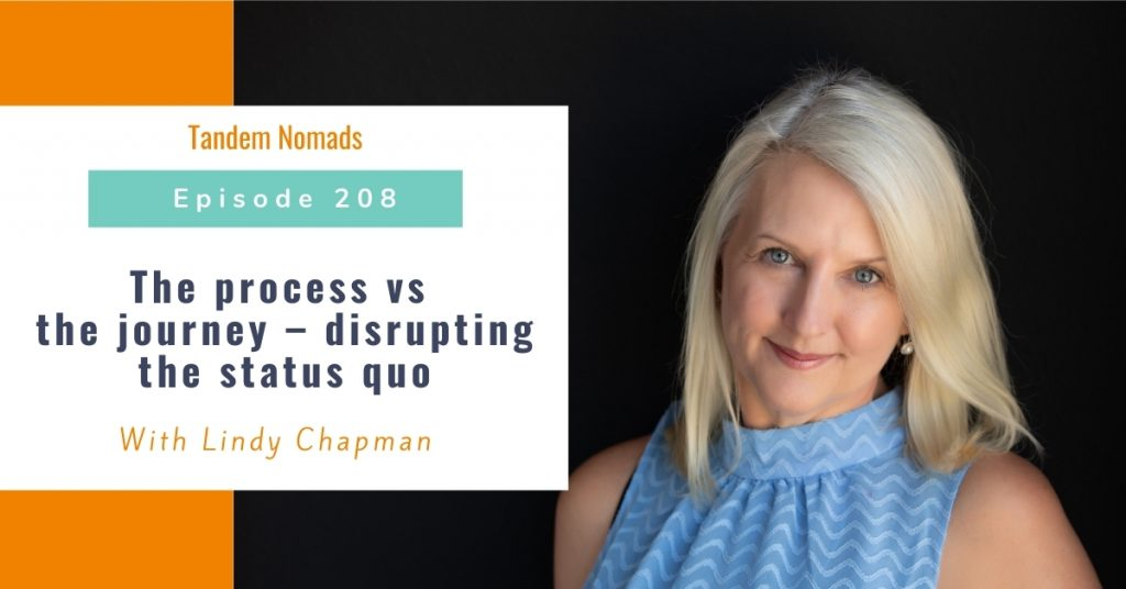 The process vs the journey – disrupting the status quo