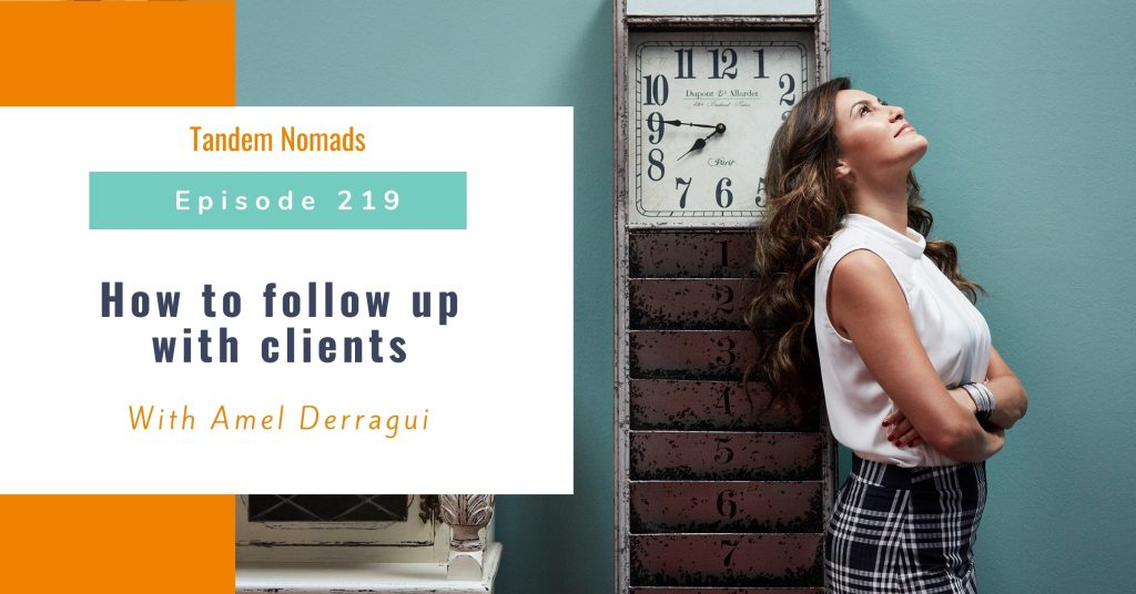 How to follow up with clients