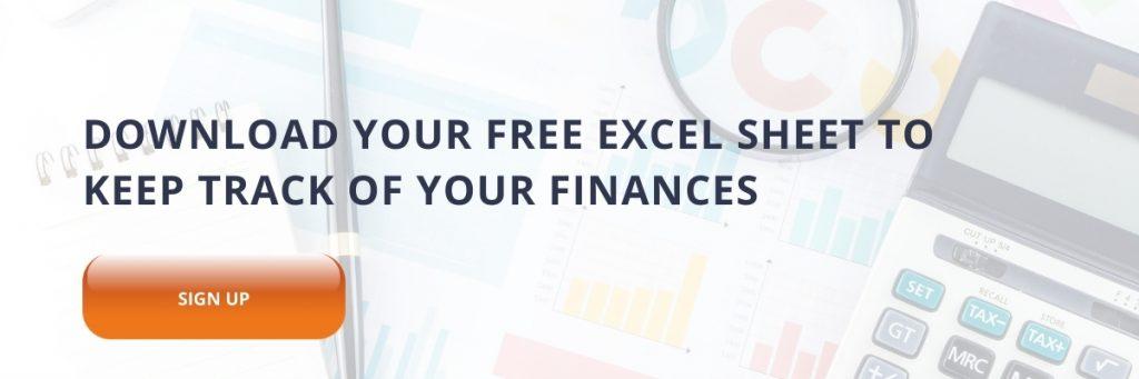 How should I keep track of my business finances?