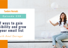7 ways to gain visibility and grow your email list