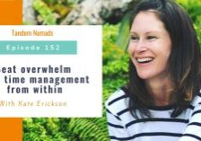 Beat overwhelm with time management from within