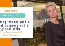 Creating impact with a social business and a global tribe
