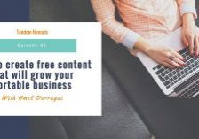 How to create free content that will grow your portable business tandem Nomads podcast