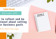 How to reflect and be intentional about setting your business goals