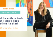 I want to write a book but I don't know where to start – With Caroline Allen