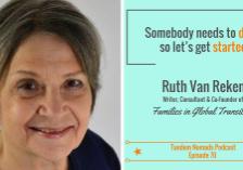 Ruth Van Reken How to leave a legacy