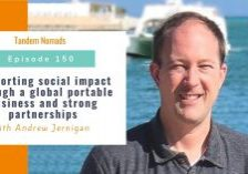 Supporting social impact through a global portable business and strong partnerships
