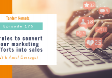 TN175 3 rules to convert your marketing efforts into sales