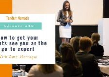 TN213 How to get your clients see you as the go to expert