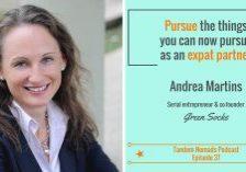 Andrea Martins start-up success