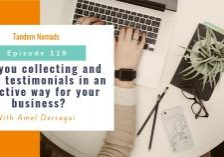TN119: Are you collecting and using testimonials in an effective way for your business?