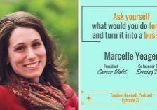 Tandem Nomads ep 72 Start a successful business Marcelle Yeager