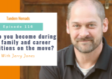 Who do you become during life, family and career transitions on the move