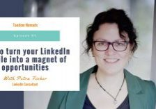 tandem nomads podcast 91 petra fisher linkedin tips